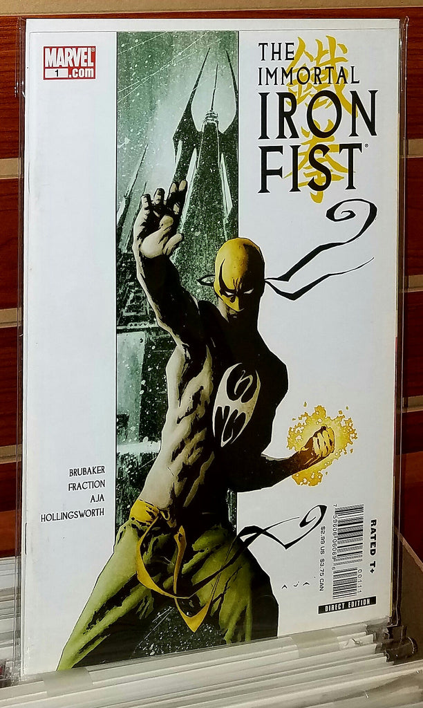 Immortal Iron Fist #1 (2006) 1st Printing Matt Fraction