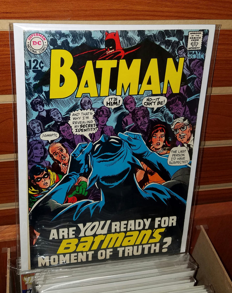 Batman #211 (1969) Irv Novick Cover