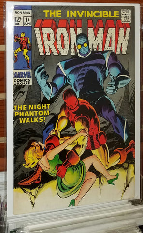 Iron Man #14 (1969) 1st Appearance Night Phantom