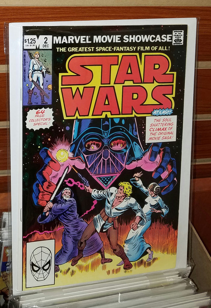 STAR WARS MARVEL MOVIE SHOWCASE #2 (1982) HOWARD CHAYKIN-NM