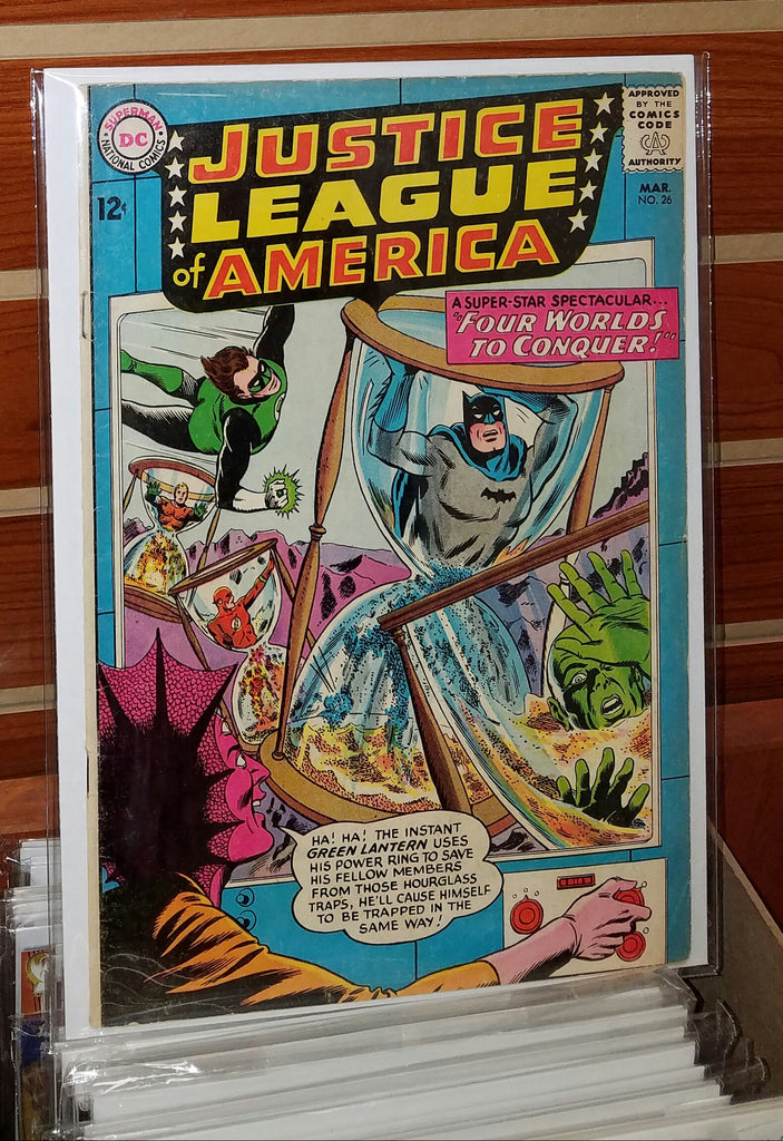 JUSTICE LEAGUE OF AMERICA #26 (1964)-FINE+