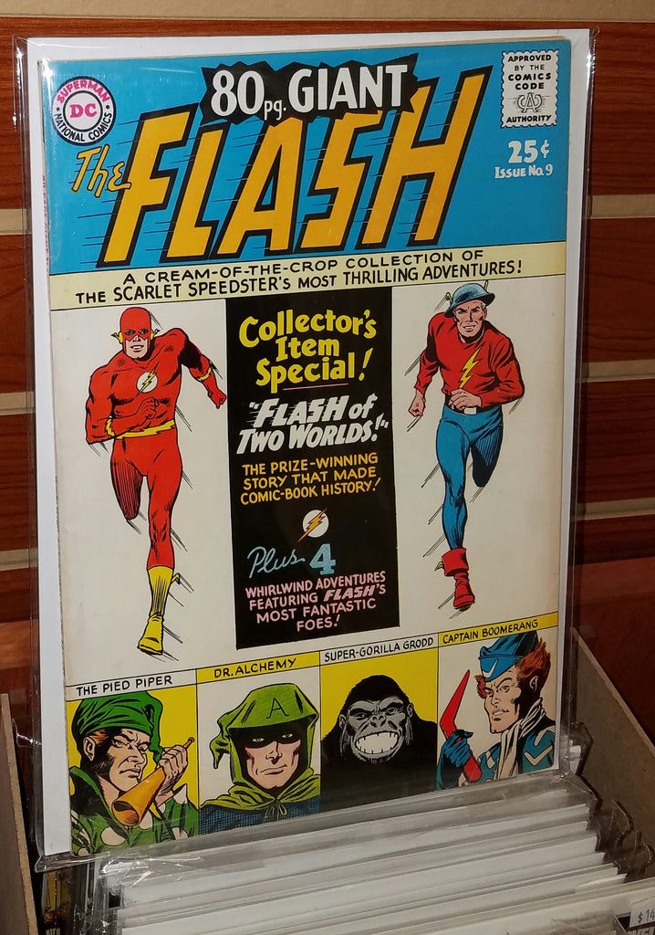 FLASH 80-PAGE GIANT #9 (1965) GARDNER FOX-VF