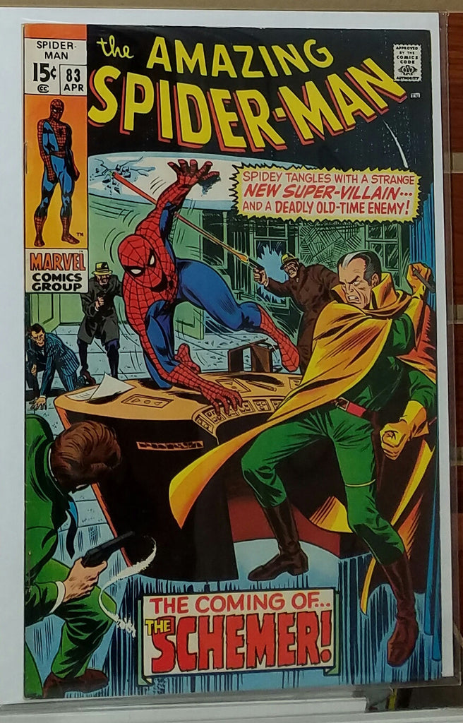 Amazing Spider-Man #83 (1970) 1st Appearance Schemer