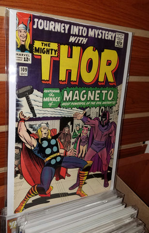 JOURNEY INTO MYSTERY THOR #109 (1964) JACK KIRBY-VF/NM