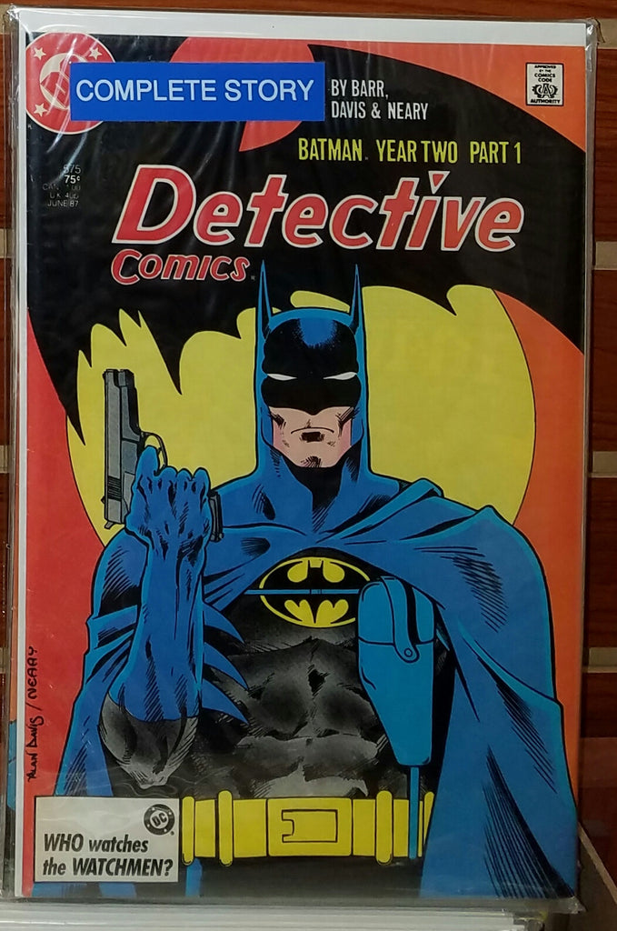 DETECTIVE COMICS #575-#578 (1987) BATMAN YEAR TWO COMPLETE SET-NM-
