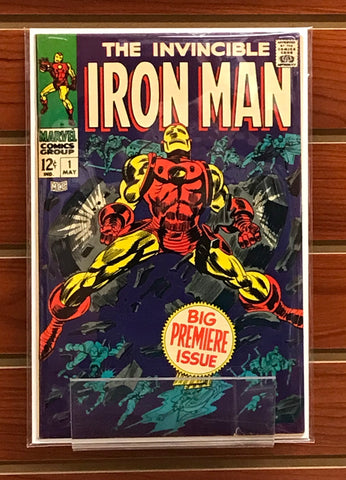 IRON MAN #1 (1968) 1ST SOLO INVINCIBLE IRON MAN-VF