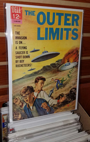 OUTER LIMITS #5 (1964 DELL) SILVER AGE SCIENCE FICTION-NM