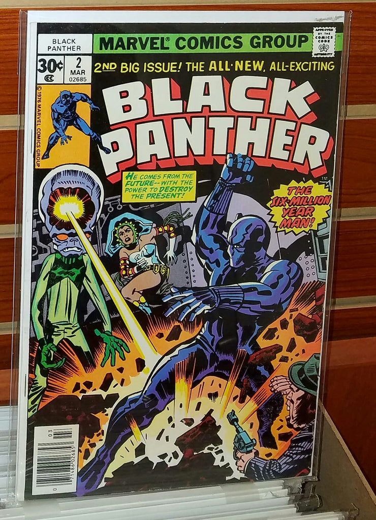 Black Panther #2 (1977) Jack Kirby Cover