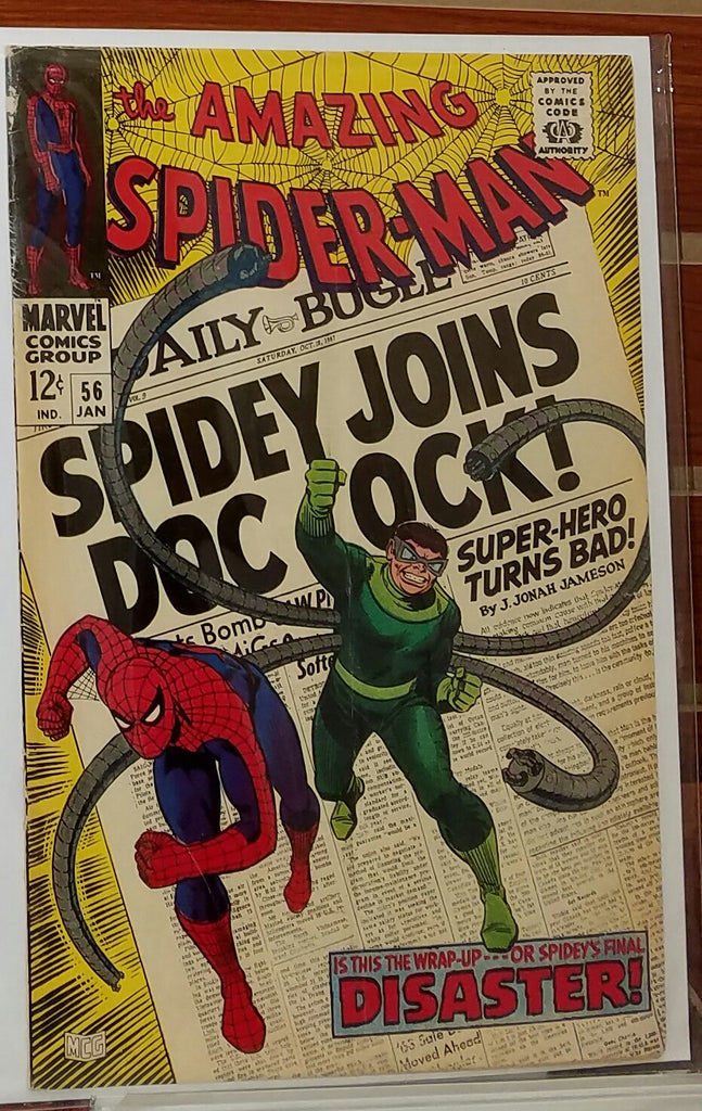AMAZING SPIDER-MAN #56 (1968) 1ST APPEARANCE CAPT. STACY-