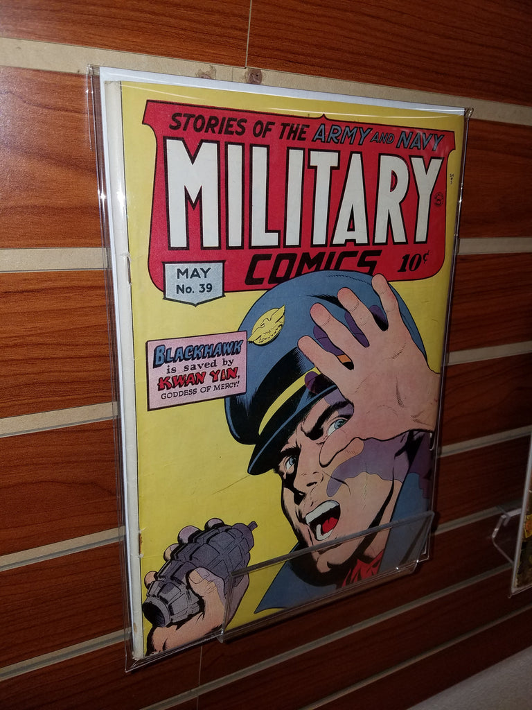 MILITARY COMICS #39 (1945) GOLDEN AGE-VF