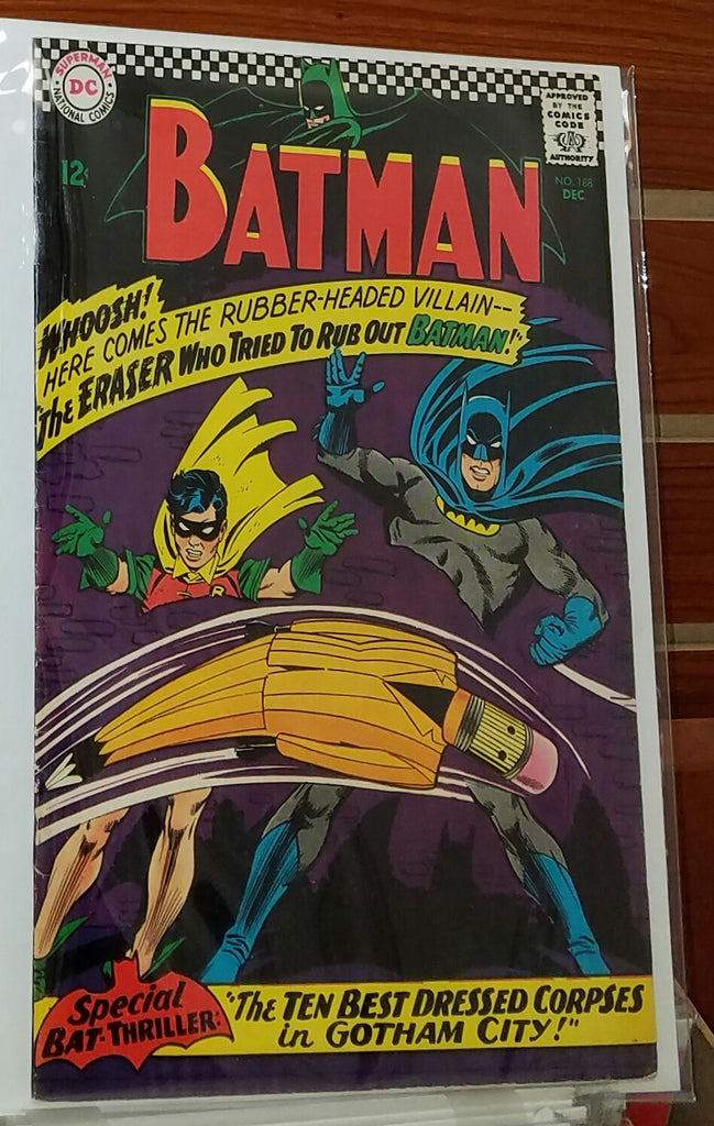 Batman #188 (1967) Carmine Infantino Cover