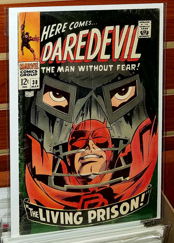 Daredevil #38 (1968) Doctor Doom Appearance