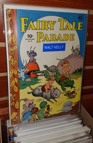 FAIRY TALE PARADE FOUR COLOR #69 (1945 DELL) WALT KELLY COVER-VF