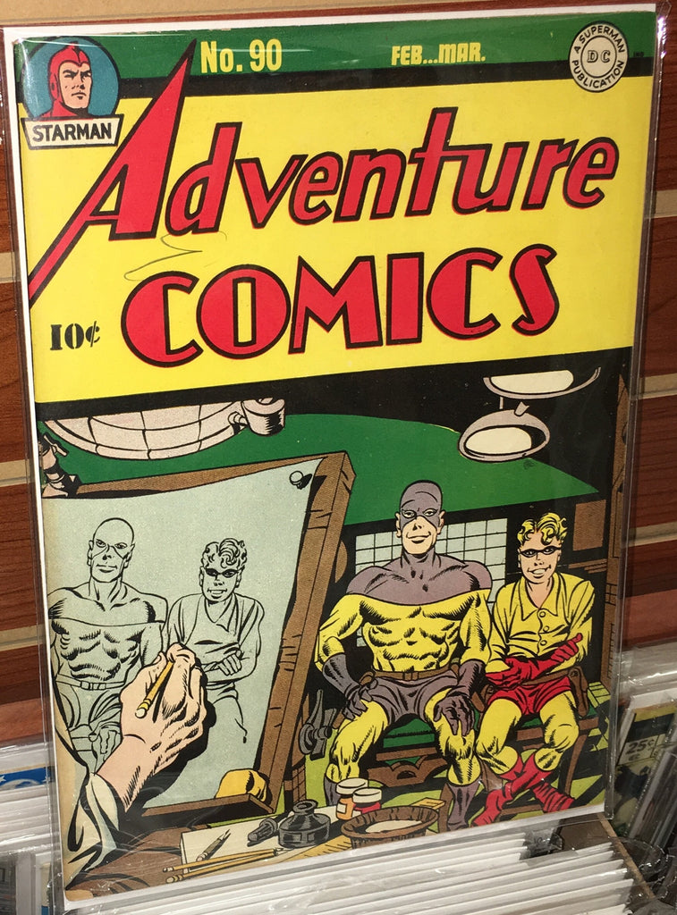 ADVENTURE COMICS #90 VF+ (1944) JACK KIRBY JOE SIMON ALFRED BESTER