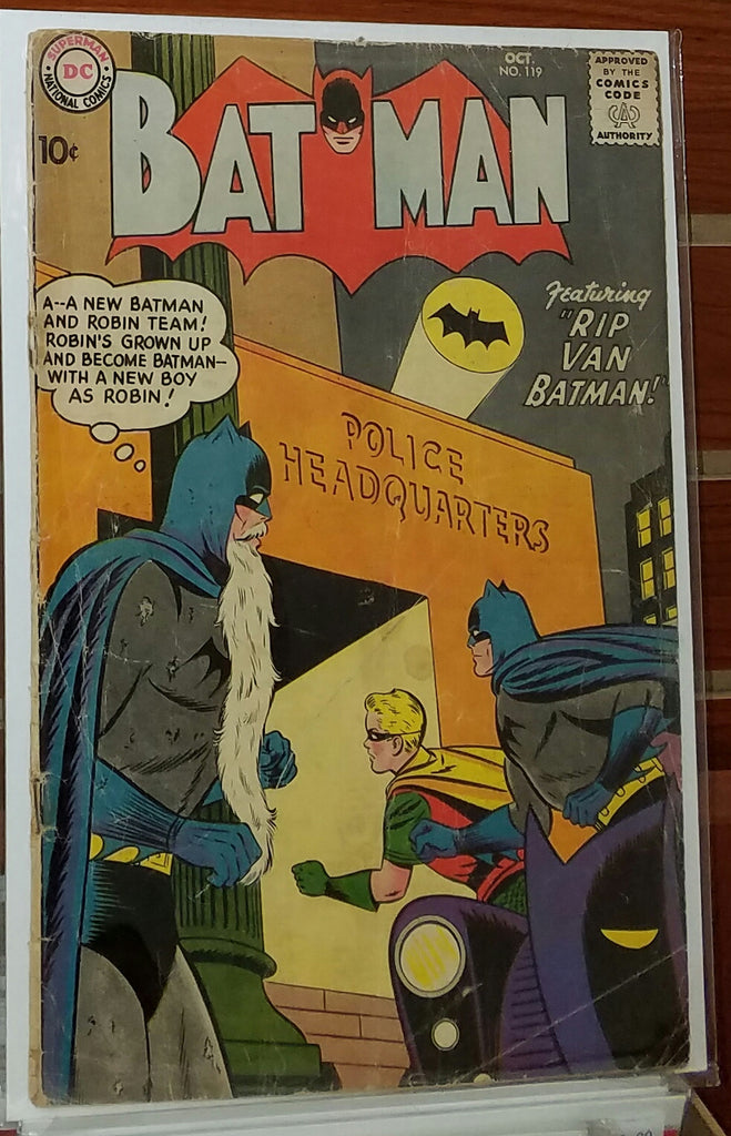 Batman #119 (1958) Curt Swan Cover