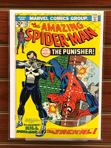 AMAZING SPIDER-MAN #129 1ST APPEARANCE OF THE PUNISHER-VF/NM