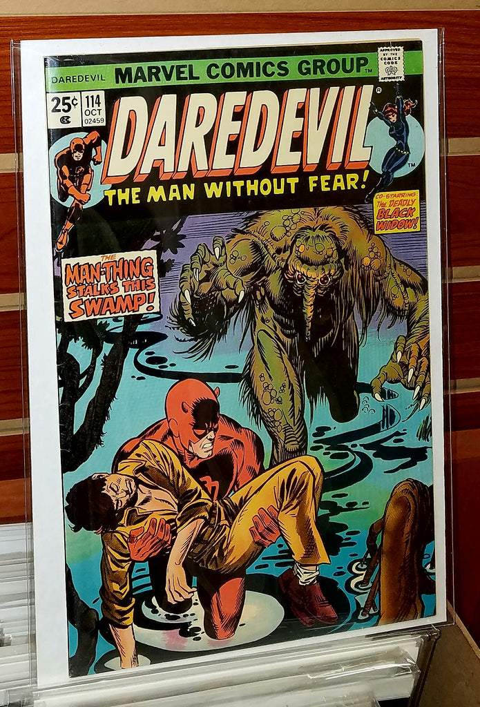 Daredevil #114 (1974) 1st Full Appearance Death Stalker
