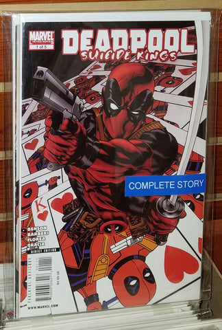 Deadpool Suicide Kings #1-#5 (2009) Complete Set