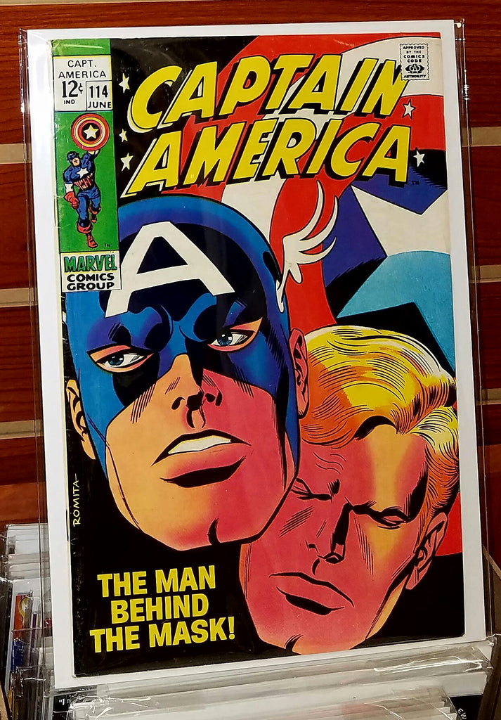 Captain America #114 (1968) John Romita Cover