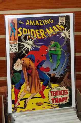 AMAZING SPIDER-MAN #54 (1967) JOHN ROMITA COVER