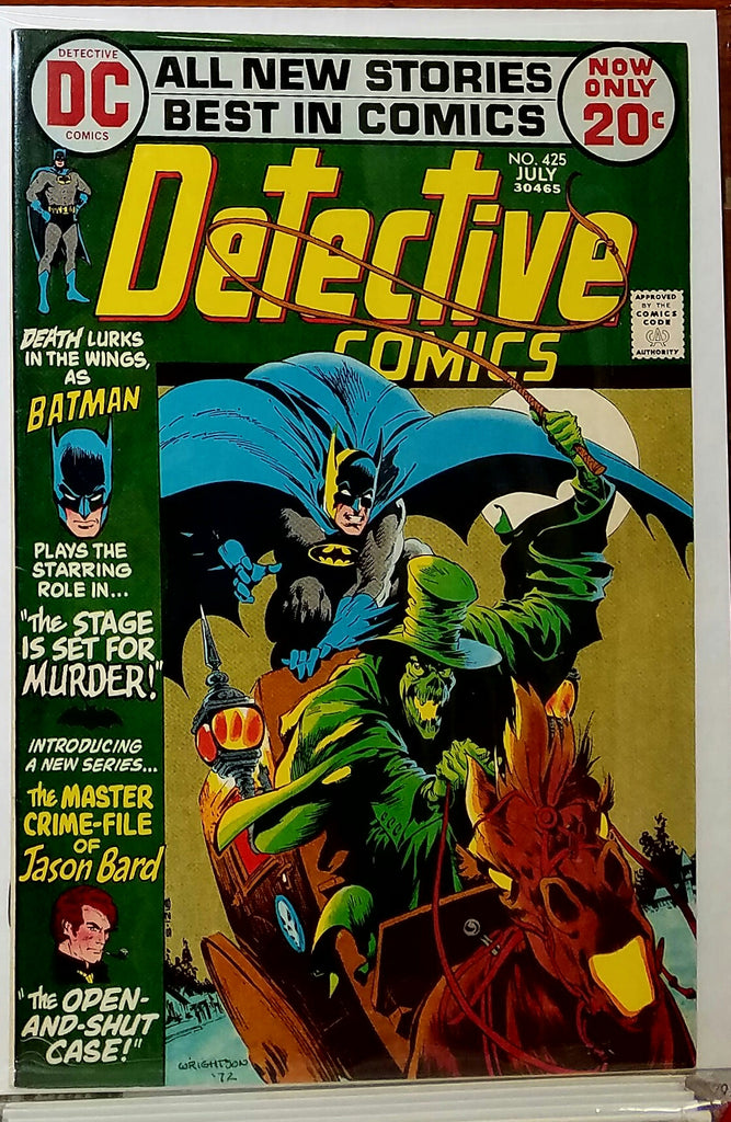 DETECTIVE COMICS #425 (1972) DENNY O'NEIL-VF+/NM