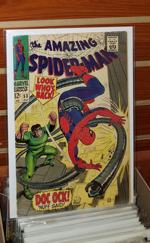 AMAZING SPIDER-MAN #53 (1967) JOHN ROMITA COVER