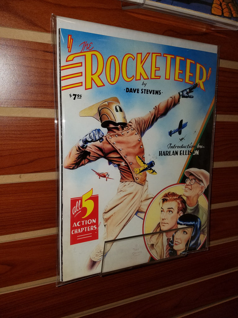 THE ROCKETEER GRAPHIC NOVEL (1985) ECLIPSE-VF/NM