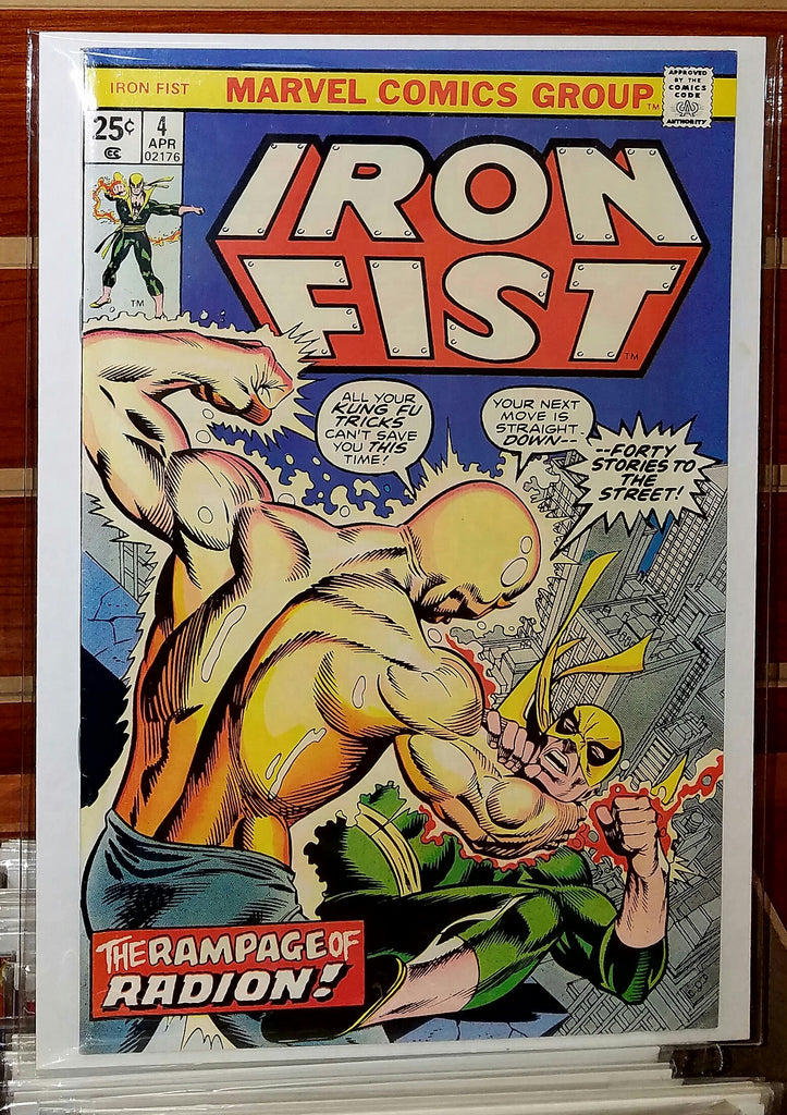Iron Fist #4 (1976) Chris Claremont John Byrne