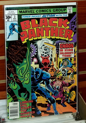 Black Panther #3 (1977) Jack Kirby Cover