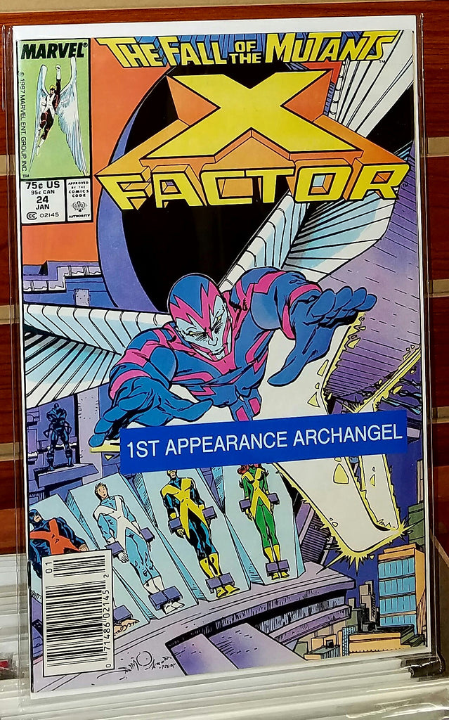 X-FACTOR #24 (1988) 1ST FULL APPEARANCE ARCHANGEL-NM+