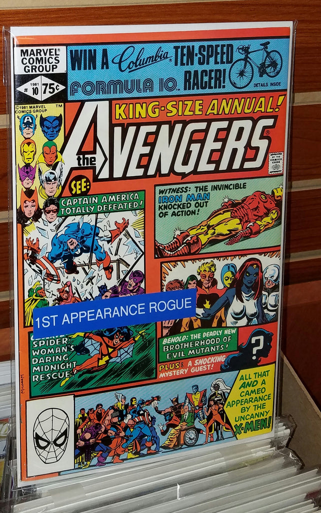AVENGERS ANNUAL #10 (1981) 1ST APPEARANCE ROGUE CHRIS CLAREMONT-NM