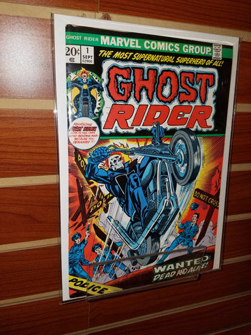 GHOST RIDER #1 (1973) 1ST APPEARANCE SON OF SATAN GIL KANE-VF