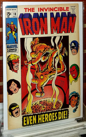 Iron Man #18 (1969) Avengers Appearance