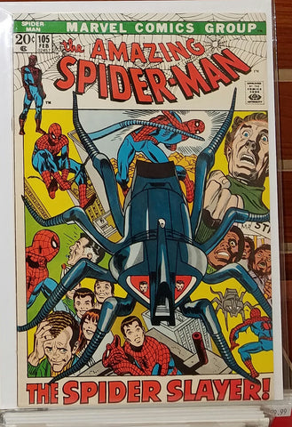 Amazing Spider-Man #105 (1972) Spider Slayer