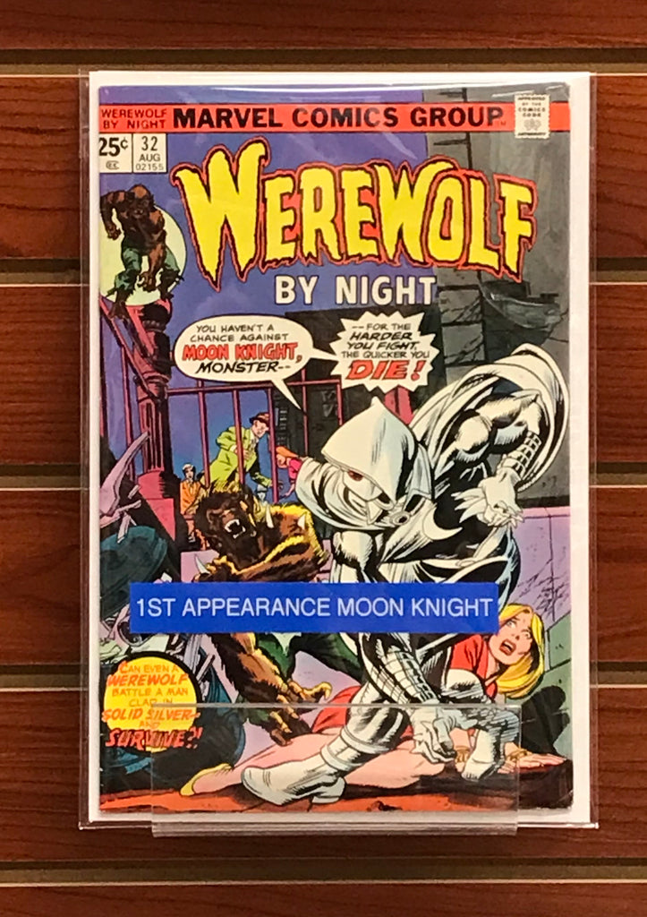 WEREWOLF BY NIGHT #32 1ST APPEARANCE MOON KNIGHT-VF+