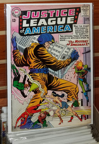 JUSTICE LEAGUE OF AMERICA #20 (1963)-FINE+/VF-