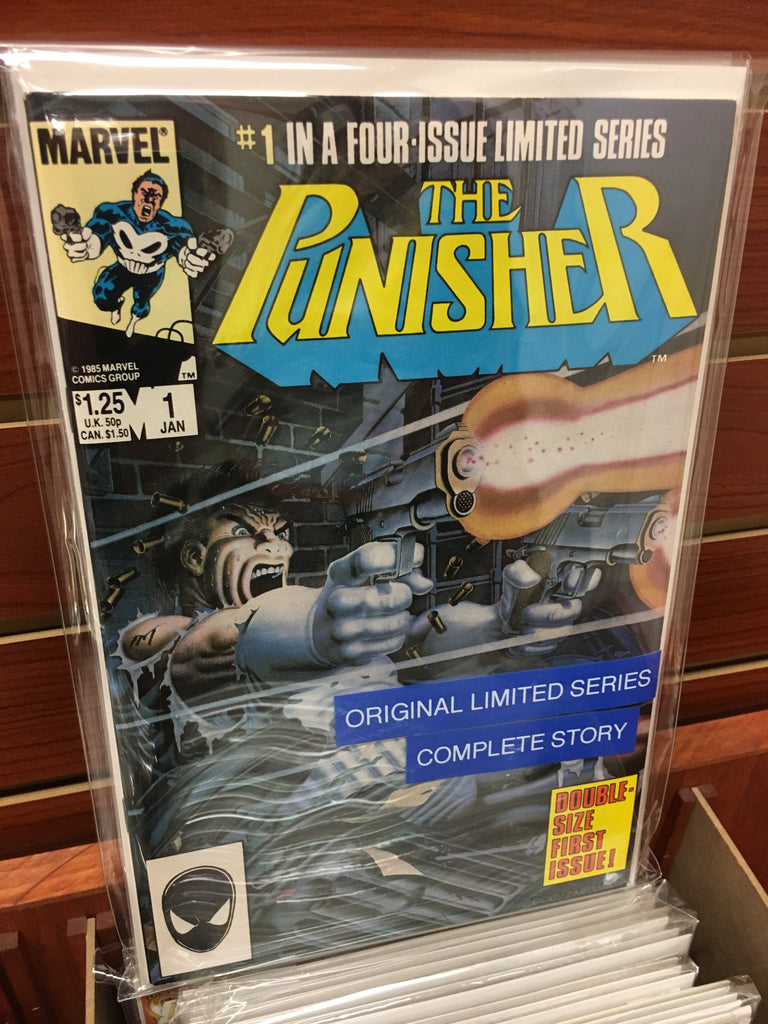 PUNISHER #1-#5 (1986) COMPLETE LIMITED SERIES-NM+
