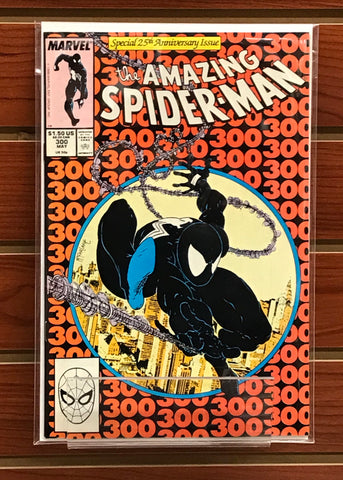 AMAZING SPIDER-MAN #300 1ST APPEARANCE OF VENOM TODD MCFARLANE-NM-