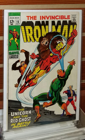 Iron Man #15 (1969) 1st Appearance Alex Niven