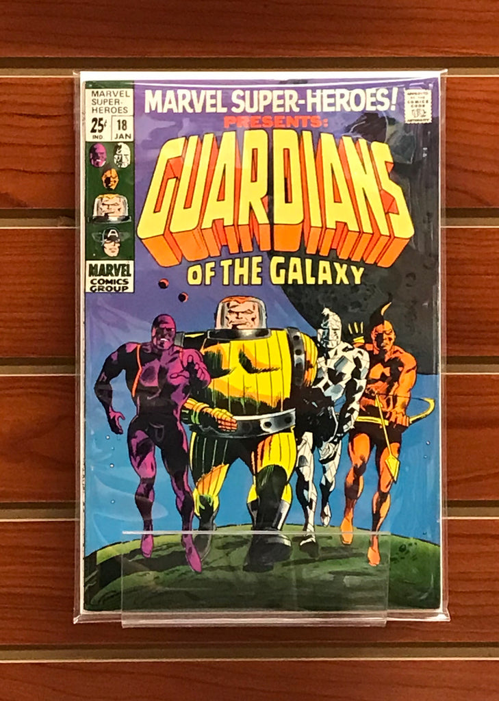 MARVEL SUPER-HEROES #18 (1969) 1ST APPEARANCE GUARDIANS OF THE GALAXY-VF-