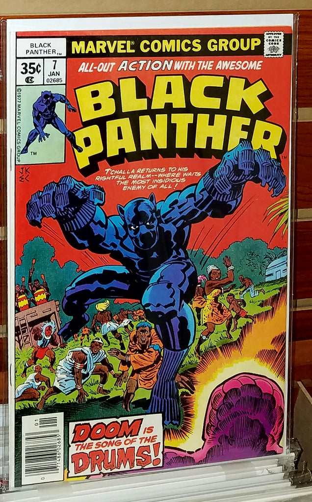 Black Panther #7 (1978) Origin Black Panther Cult