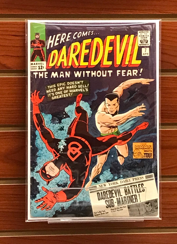 DAREDEVIL #7 (1965) 1ST RED COSTUME - VF
