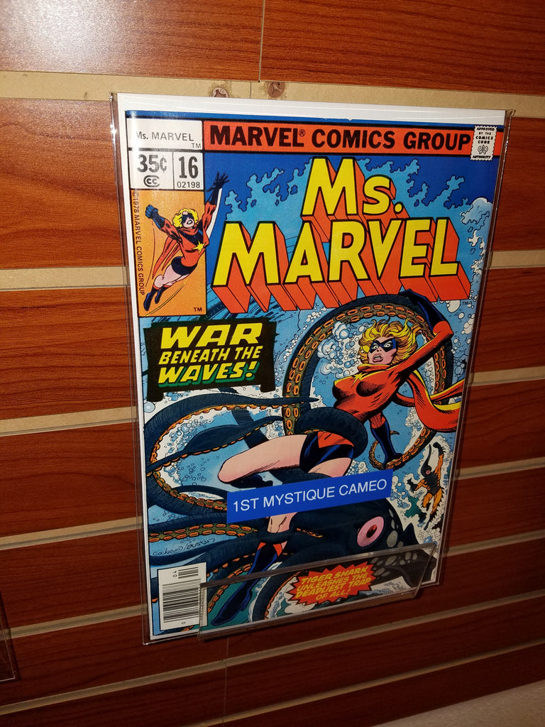 MS. MARVEL #16 (1978) 1ST MYSTIQUE CAMEO-CHRIS CLAREMONT-NM