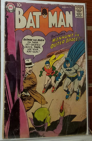 Batman #117 (1958) Curt Swan Cover