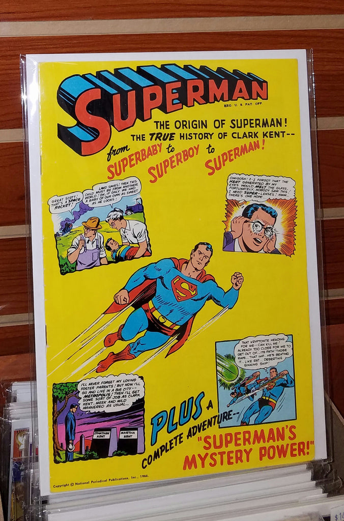 SUPERMAN THE ORIGIN OF SUPERMAN (1966) GOLDEN RECORD-NM