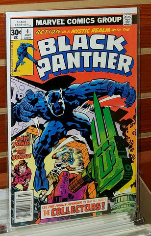 Black Panther #4 (1977) Jack Kirby Cover