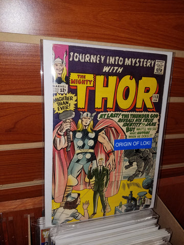 JOURNEY INTO MYSTERY THOR #113 (1965) JACK KIRBY-FINE+/VERY FINE-