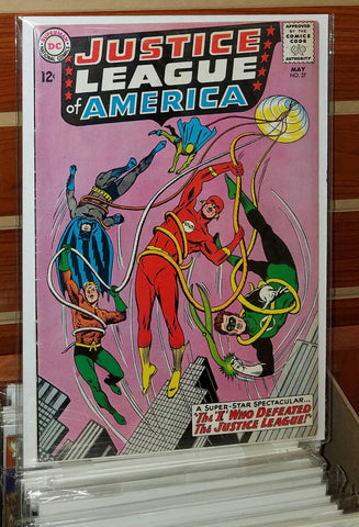 JUSTICE LEAGUE OF AMERICA #27 (1964)-VF-