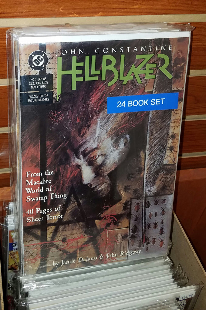 HELLBLAZER #1-#24 COMPLETE SET (1988)-NM