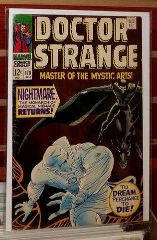 Doctor Strange #170 (1968) Ancient One Appearance
